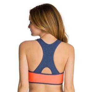 2bfb4b7e16c62 Splendid Swim - NWT splendid blocked   blue sports bra bikini top